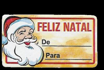 Etiqueta Decor Rolinho Natal 572
