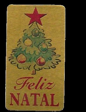 Etiqueta Decor Rolinho Natal 574
