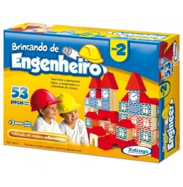 Jogo Brincando de Engenheiro II