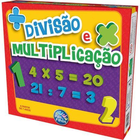 Jogo Divisão E Multiplicação Brinquedo Pedagógico
