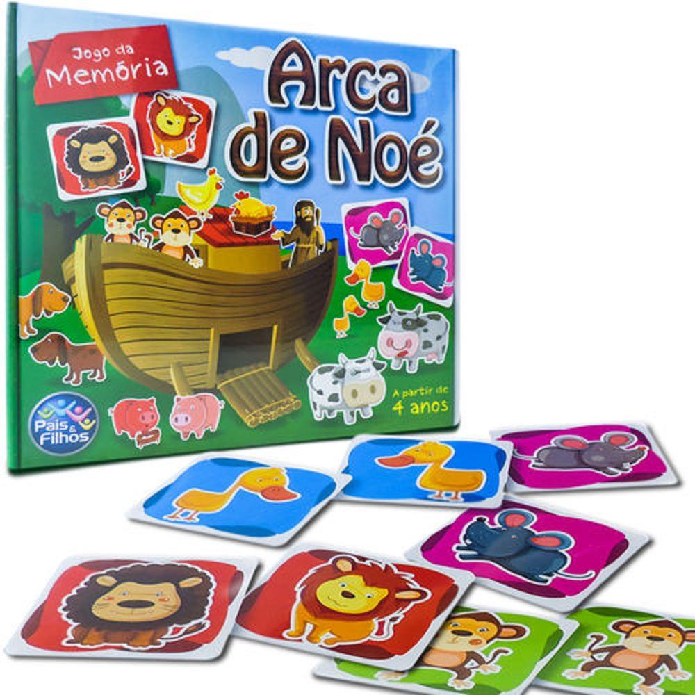 Jogo Memória - A Arcada de Noé