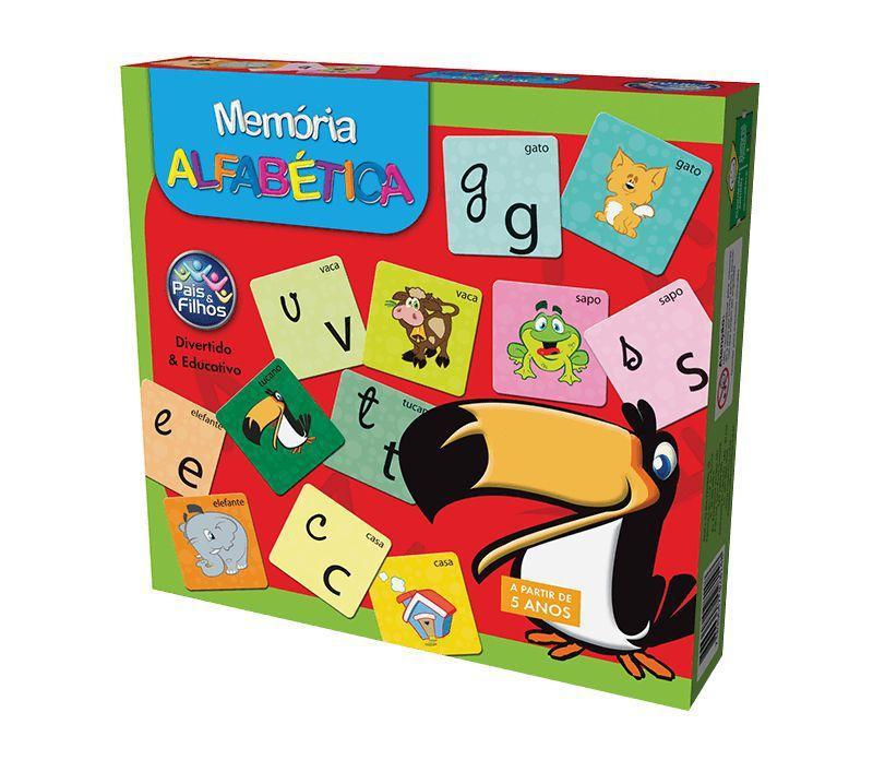 Jogo Memória - Alfabética
