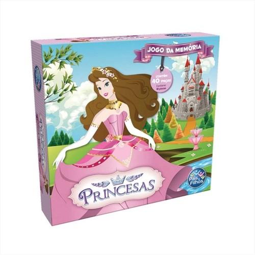 Jogo Memória - Princesas