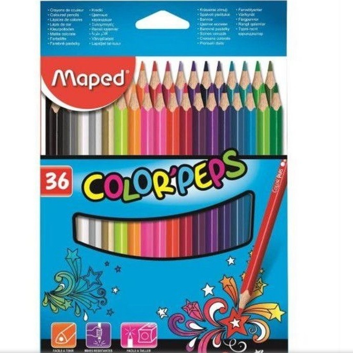 Lápis de Cor - 36 Color Peps