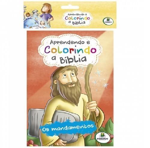 Livro - Aprendendo e Colorindo a Bíblia - (10 Unidades)