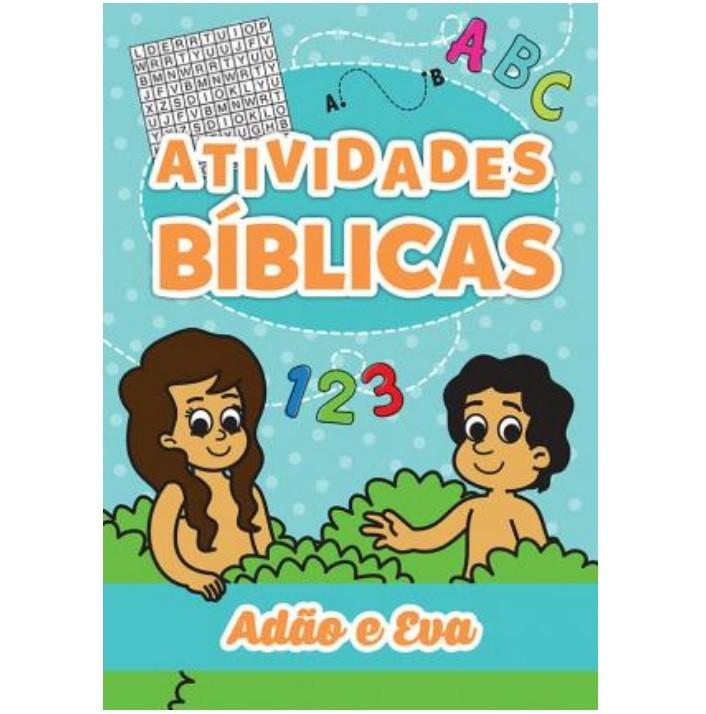 Livro - Atividades Bíblias: Adão e Eva