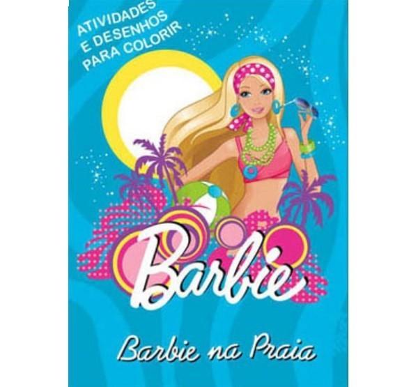 Livro - Barbie na Praia