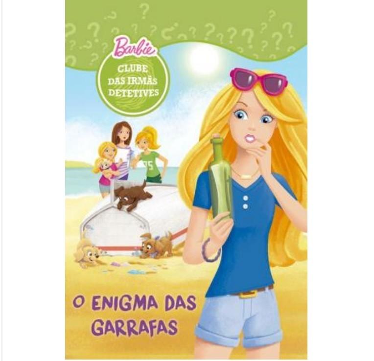 Livro - Barbie - O Enigma das Garrafas