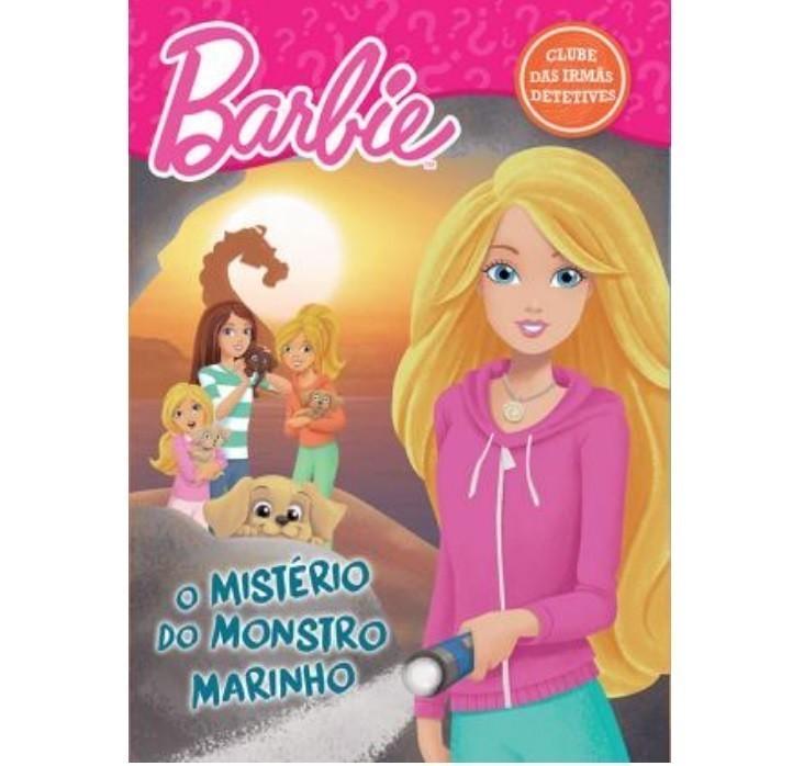 Livro - Barbie - O Mistério do Monstro Marinho