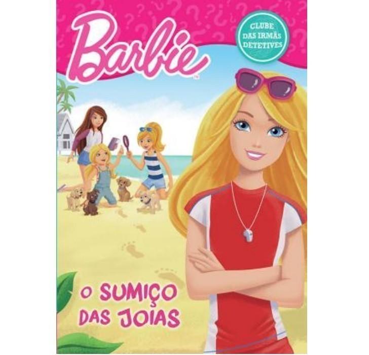 Livro - Barbie - O Sumiço das Joias