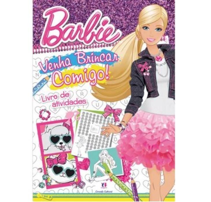 Livro - Barbie - Venha Brincar Comigo!