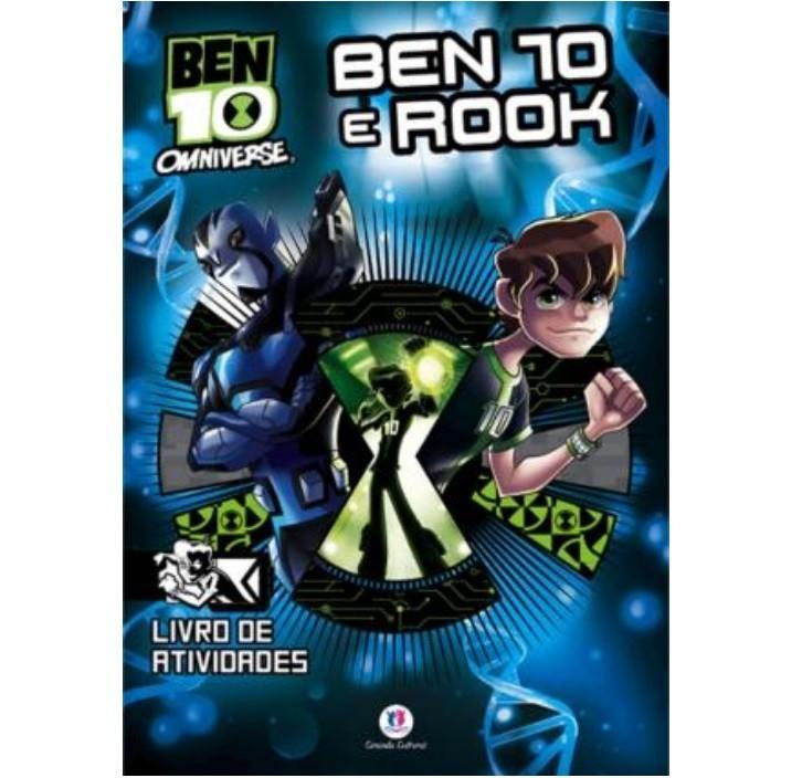 Livro - Ben 10 - Ben 10 e Rook