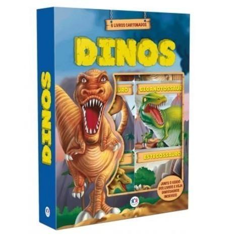 Livro - Box Dinos com 6 Mini Livros