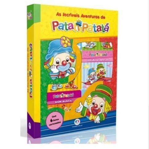Livro - Box Patati Patatá com 6 Mini Livros