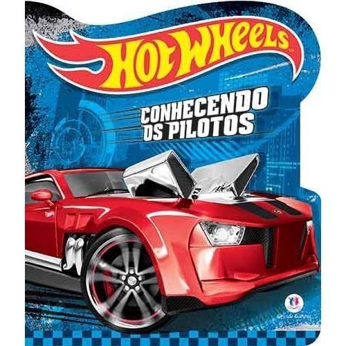 Livro - Hot Wheels - Conhecendo os Pilotos