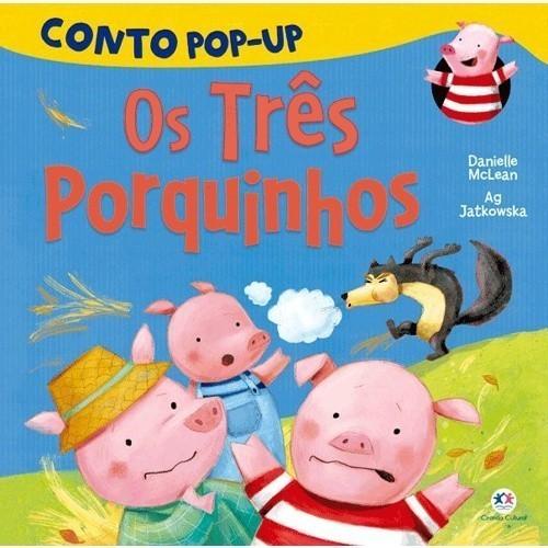 Livro - Pop-Up Os Três Porquinhos