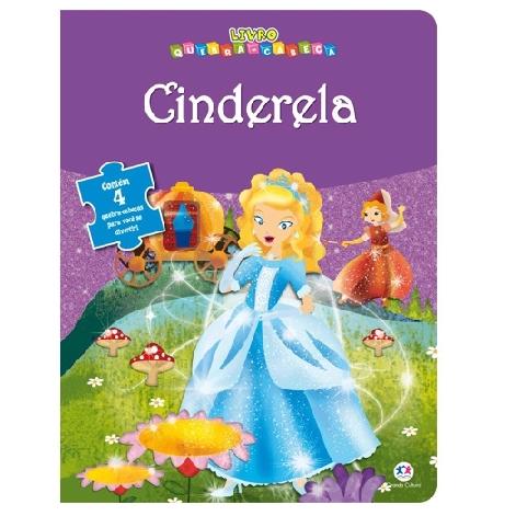 Livro Quebra Cabeça - Cinderela