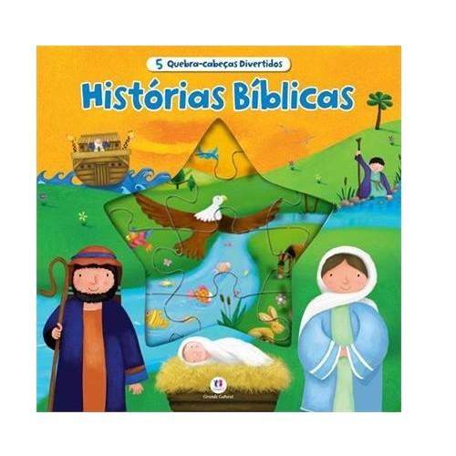Livro Quebra Cabeça - Histórias Biblicas Div.