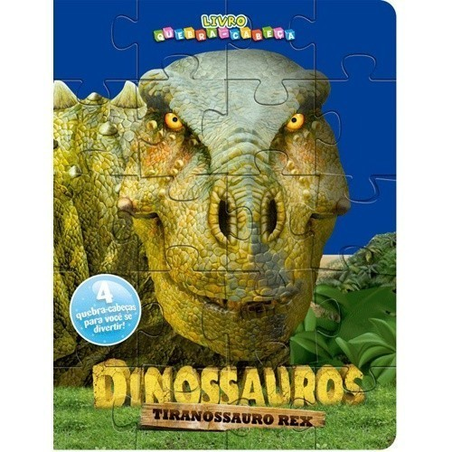 Livro Quebra Cabeça - Tiranossauro-Rex