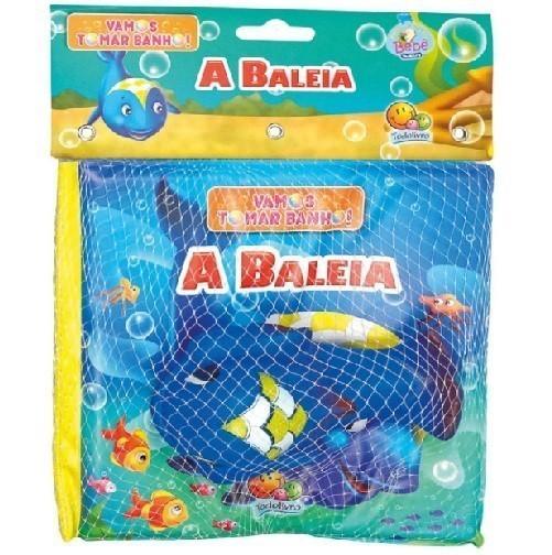 Livro - Vamos Tomar Banho! - A Baleia