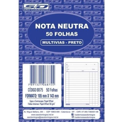 Nota Neutra sem Cópia - São Domingos