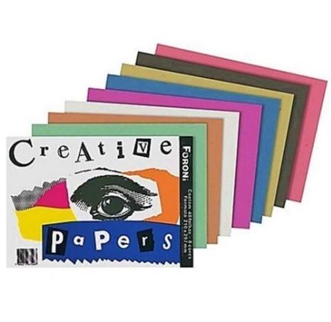 Papel Criativo Creative Papers Colorido - Foroni