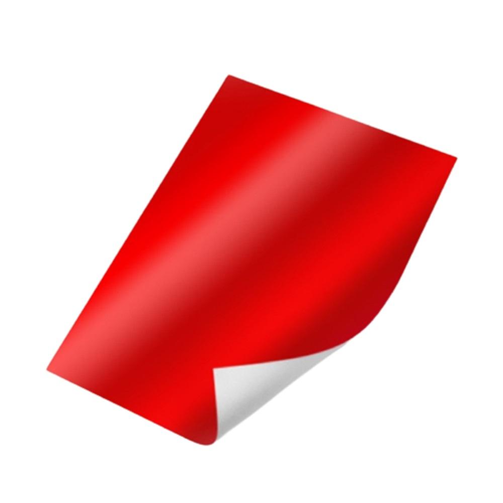 Papel laminado / Lamicorte 48x58cm 40 Folhas VERMELHO