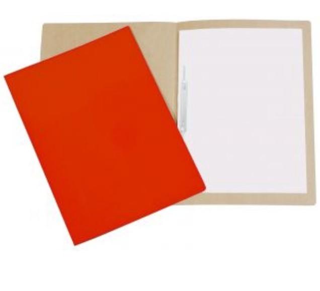 Pasta Cartão Duplex com Grampo VERMELHA - Polycart