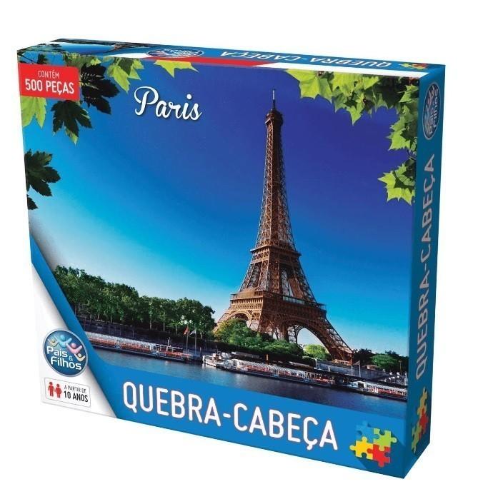 Quebra Cabeça 500 Peças Paris - Pais & Filhos