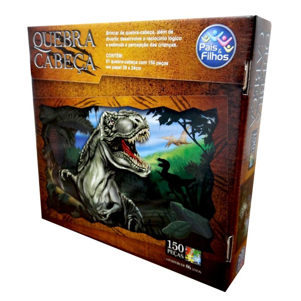 Quebra Cabeças T-Rex
