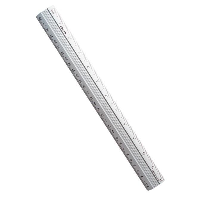 Régua de Alumínio 30cm - Jocar