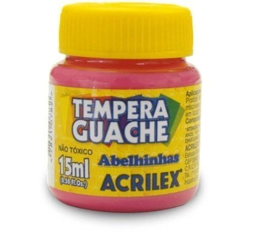 Tinta Guache ROSA 15ml 537 - Acrilex