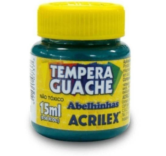 Tinta Guache VERDE BANDEIRA 15ml 511 - Acrilex