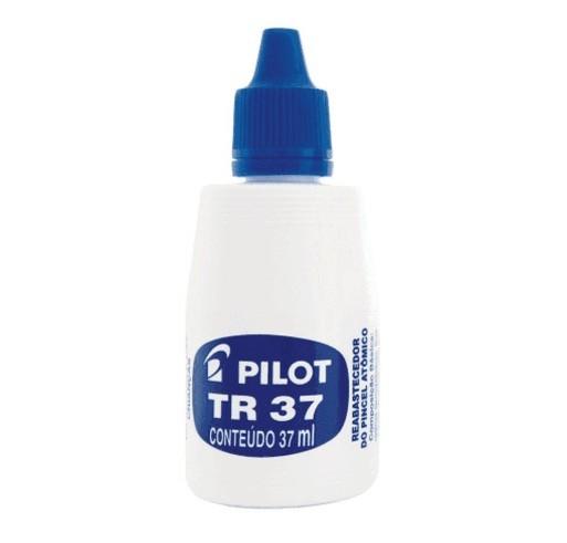 Tinta para Pincel Atomico Tr37 Azul - Pilot (12 Unidades)