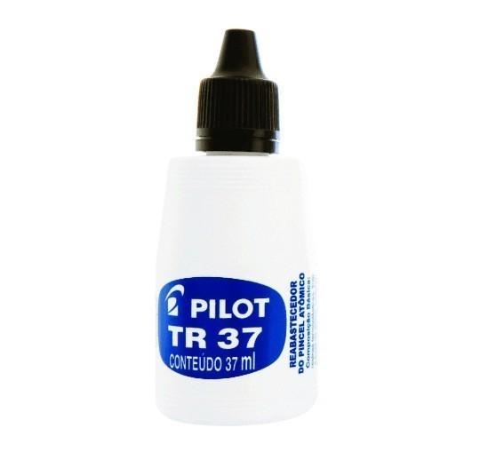 Tinta para Pincel Atomico Tr37 Preto - Pilot (12 Unidades)