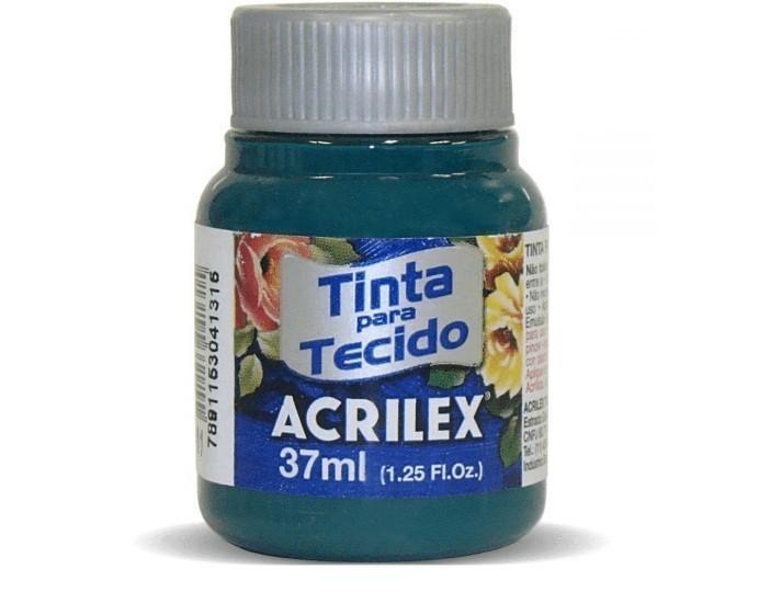 Tinta para Tecido Fosca VERDE Bandeira 37ml 511 - Acrilex