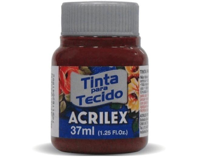 Tinta para Tecido Fosca VINHO 37ml 565 - Acrilex