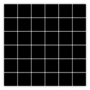 PASTILHA JATOBÁ JC-1620 PRETO WAGNER | [30,3x30,3cm] [*valor CAIXA COM 2,02m²]