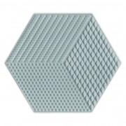 Piso e Revestimento Cerâmico PIASTRELLE HEX-GRIS MEDIA | [17,5x20cm] | vendido pro peça