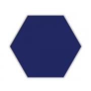 Piso e Revestimento HEXAGONAL AZUL ACETINADO CERAL | 23X20cm | *valor da caixa