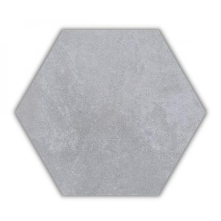 Piso e Revestimento HEXAGONAL CIMENTO ACETINADO CERAL   23X20cm   *valor da caixa