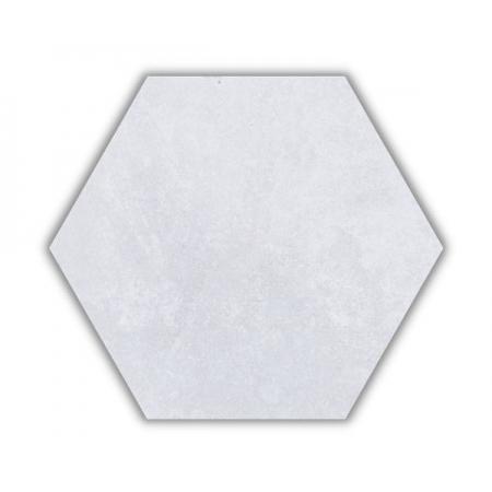 Piso e Revestimento HEXAGONAL CIMENTO SOFT ACETINADO CERAL | 23X20cm | *valor da caixa