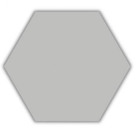 Piso e Revestimento HEXAGONAL CINZA ACETINADO CERAL | 23X20cm | *valor da caixa