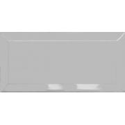 Revestimento Piacenza BISOTADO Cinza Platina | 10,5x21,5cm | valor caixa 0,91m²