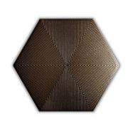 Revestimento HEXAGONAL CONNECT BROWN CERAL | caixa