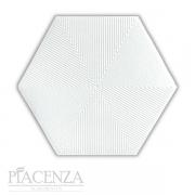 Revestimento PEÇA HEXAGONAL CONNECT WHITE CERAL | 23X20cm | *valor da peça