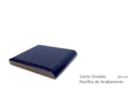 Canto Simples JATOBÁ na cor da pastilha | 5x5cm | *valor da PEÇA