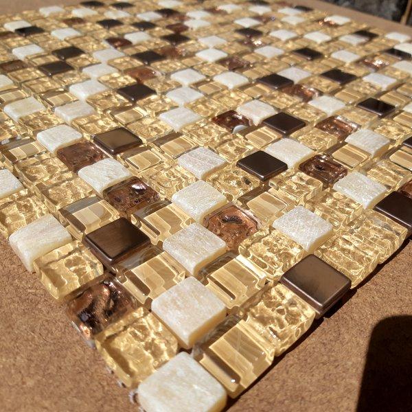Pastilha De Vidro CB 1118 Stillo Salmon 30x30cm