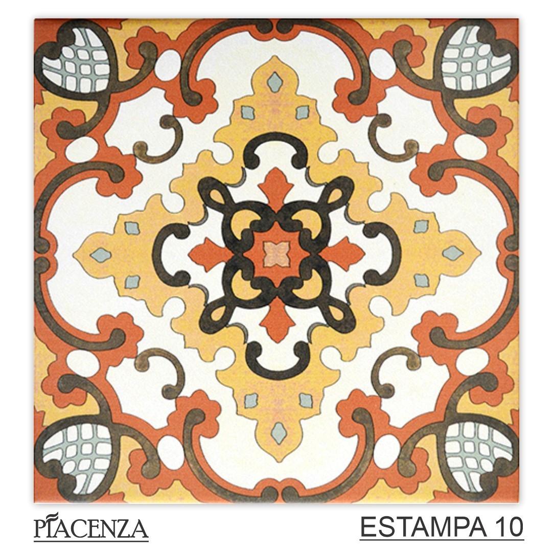 Piso e Revestimento Cerâmico PIASTRELLE COLORATA | [20,5x20,5cm] | *valor da peça