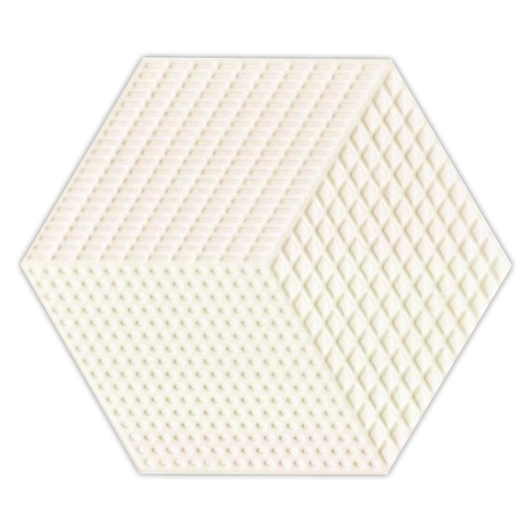 Piso e Revestimento Cerâmico PIASTRELLE HEX-BEIGE | [17,5x20cm] | valor da peça